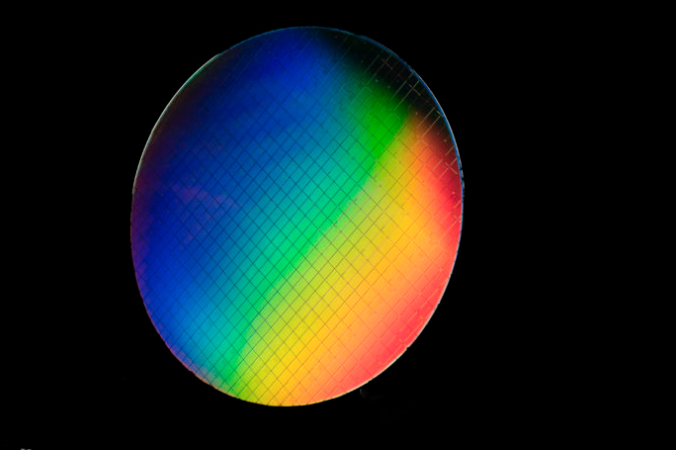 An isotopically pure wafer