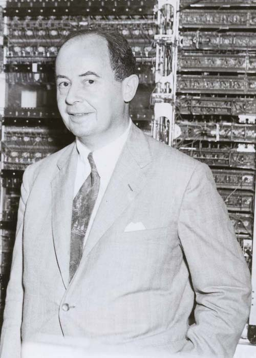 Image of John von Neumann.