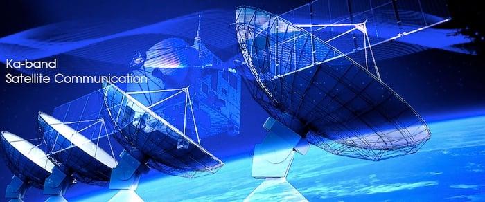 Ka-band satellite communications