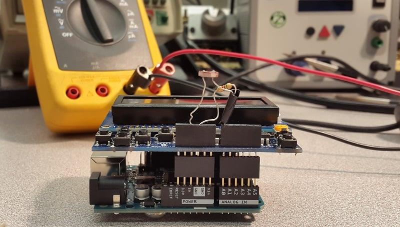 Design a Luxmeter Using a Light Dependent Resistor