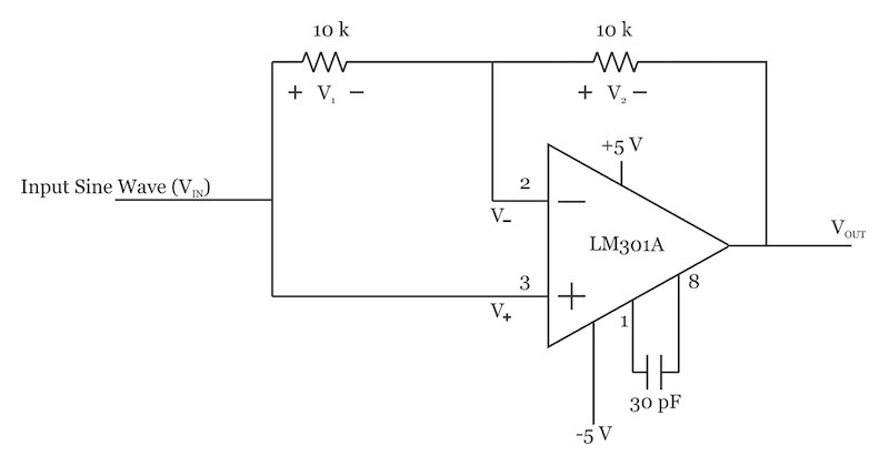 LTC1043 synchronous demodulator schematic
