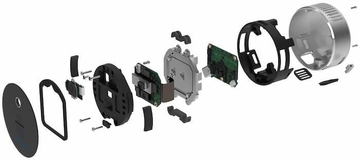 Breakdown of the Intel RealSense LiDAR Camera L515.