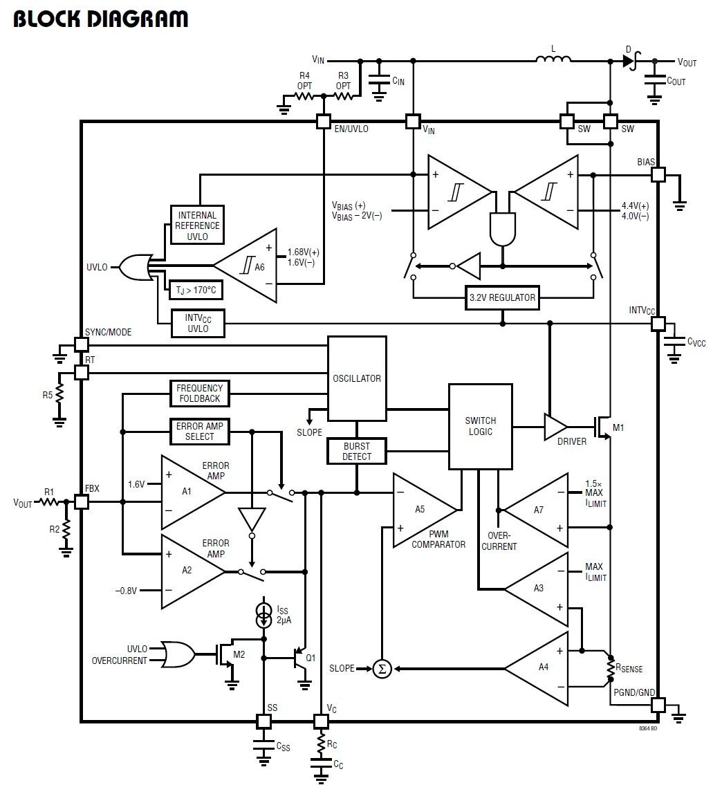 A Small Powerful And Versatile Dc Converterbut One That Parallel Circuits Electronics Worksheet Fortunately The Datasheet Explains Key Terms Functionalities Related To This Device Presents Typical Application Provides