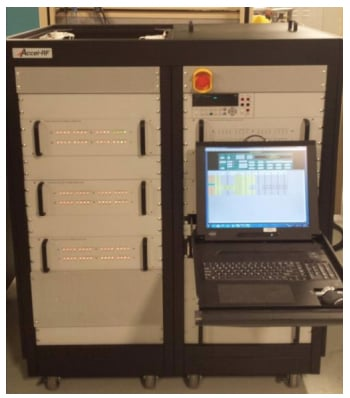 MACOM's Automated Accelerated Reliability Test System can perform up to 60 devices.
