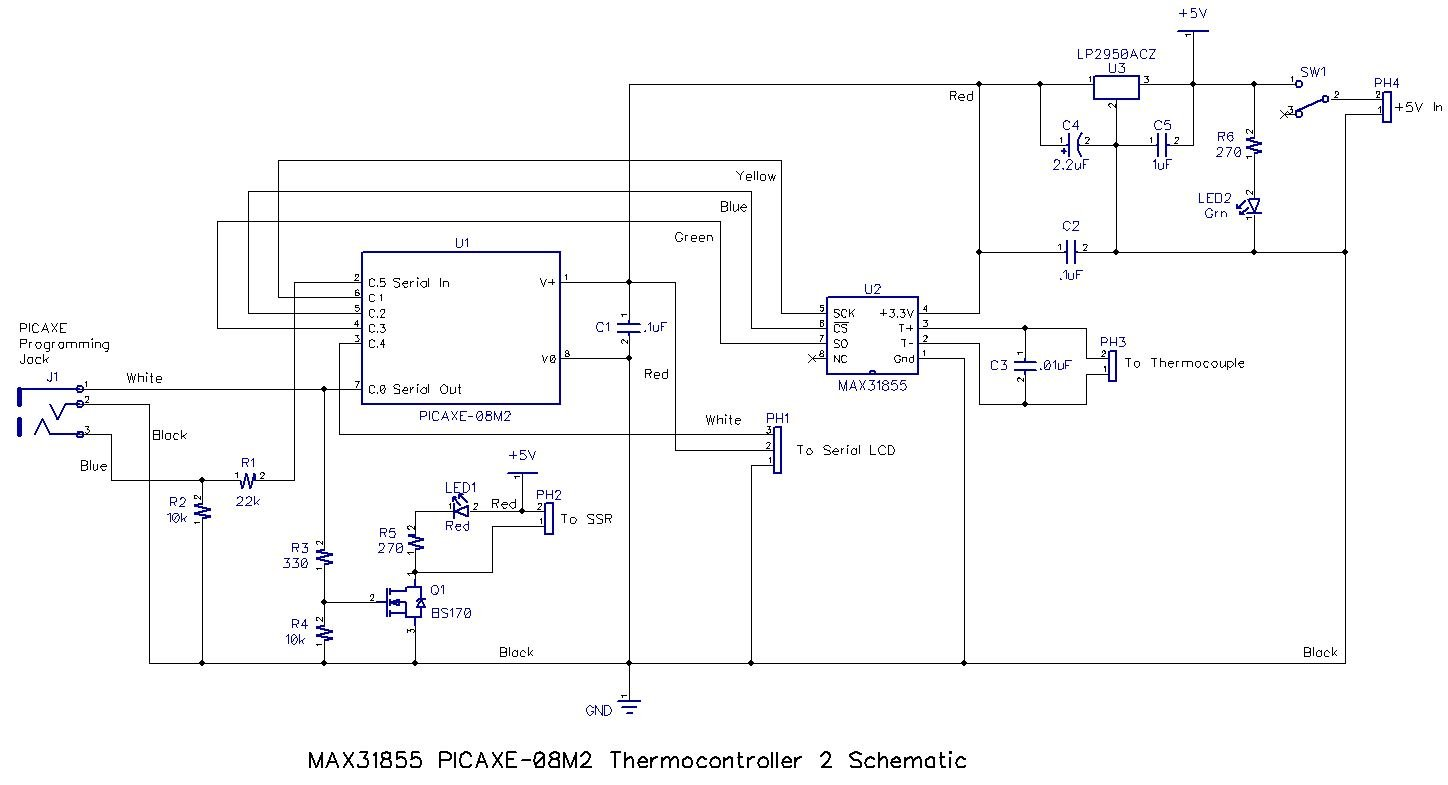 Oven Wiring Diagram Ssr Expert Diagrams 125 Get Free Image About Controlling A Toaster With Picaxe Part 2 And Pid