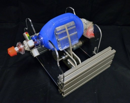 MIT emergency ventilator, the E-Vent.