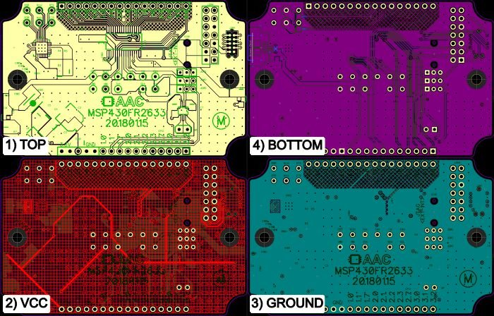 Capacitive Control Panel PCB Design Considerations for TI's