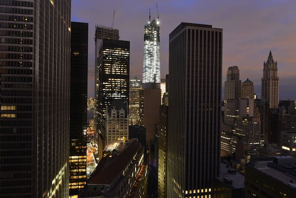 Manhattan during a power outage.