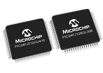 Microchip's newest low power MCU, the PIC24F