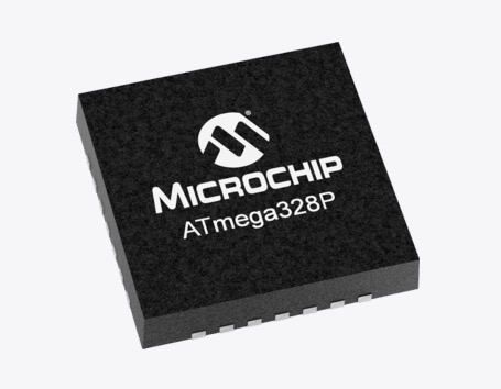 Microchip ATmega328P microcontroller