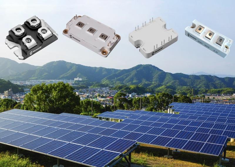 Microchip SiC SBD modules