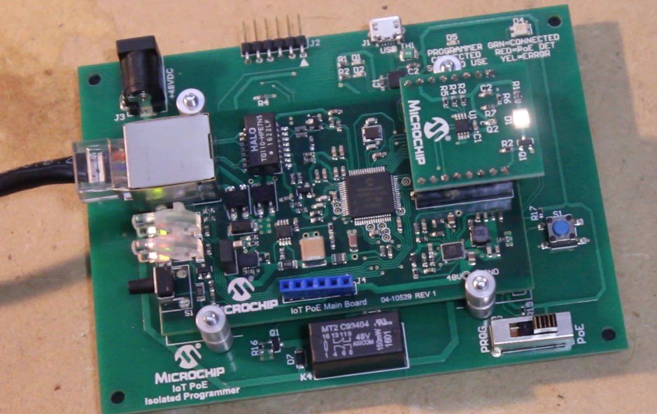 Power over Ethernet (PoE) with Microchip's EoE!