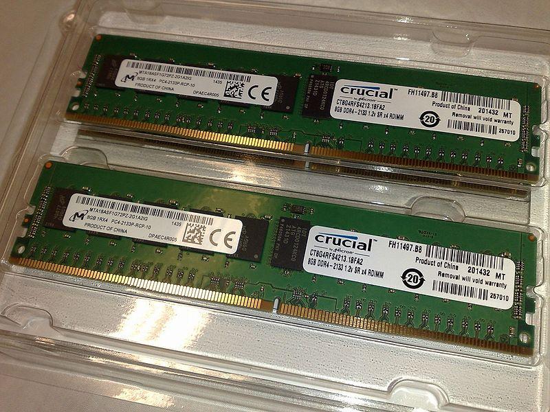 Micron Crucial DDR4 DRAM