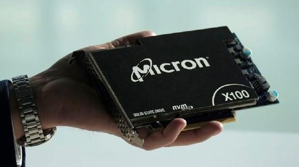 Micron's X100 SSDs