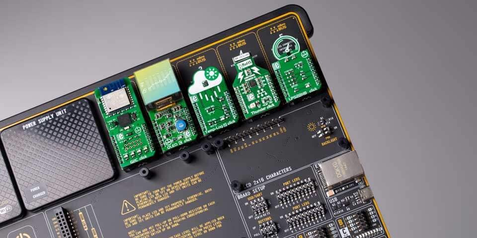 Mikroe mikroBUS socket