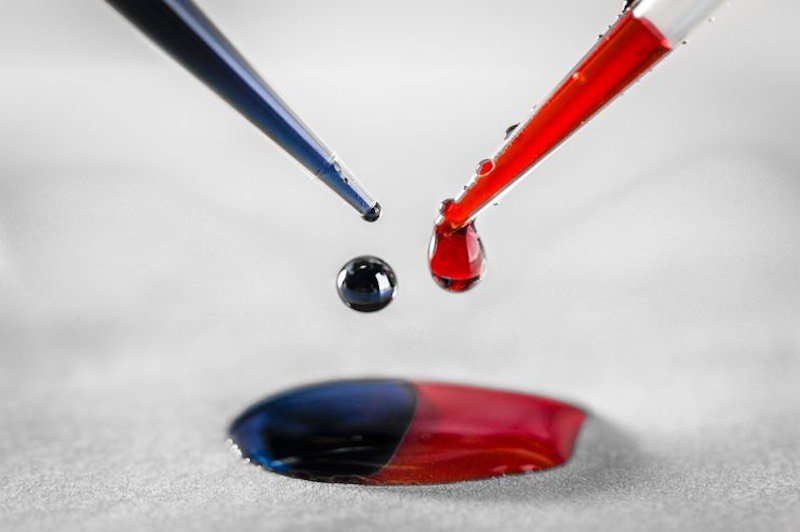 The mixed-polymer ink created by Linkoping University.