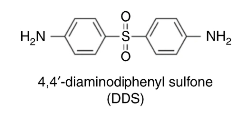 Molecular structure of DDS