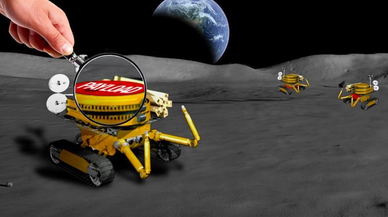 NASA seeks payloads for its miniature lunar rovers