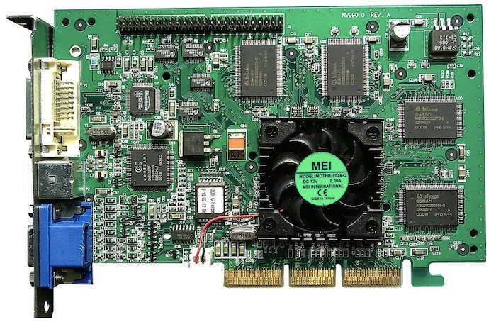 NVIDIA GeForce 256, the company's first GPU