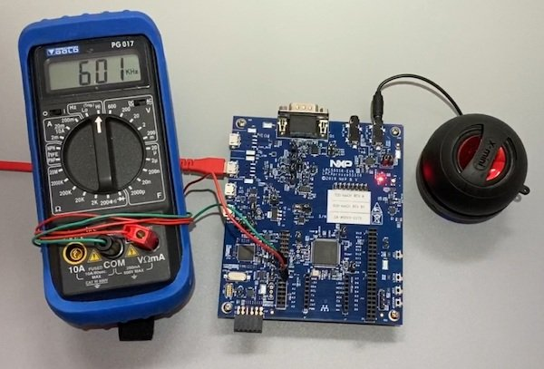 The output on the CLKOUT pin should be 600 kHz.
