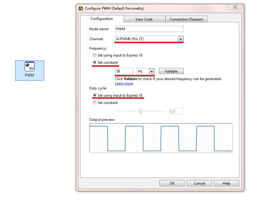 Create a PID Controller on the NI myRIO—The Software