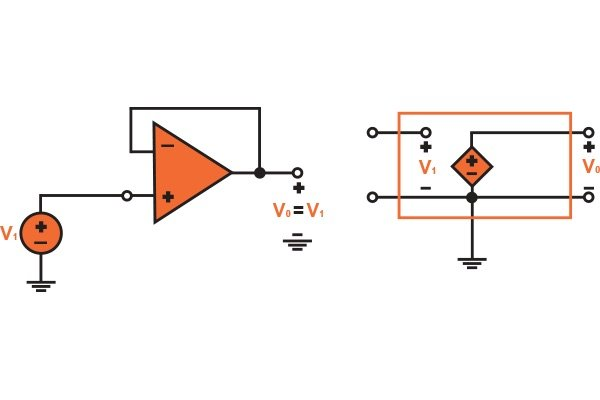 Non-inverting Configuration of an Operational Amplifier