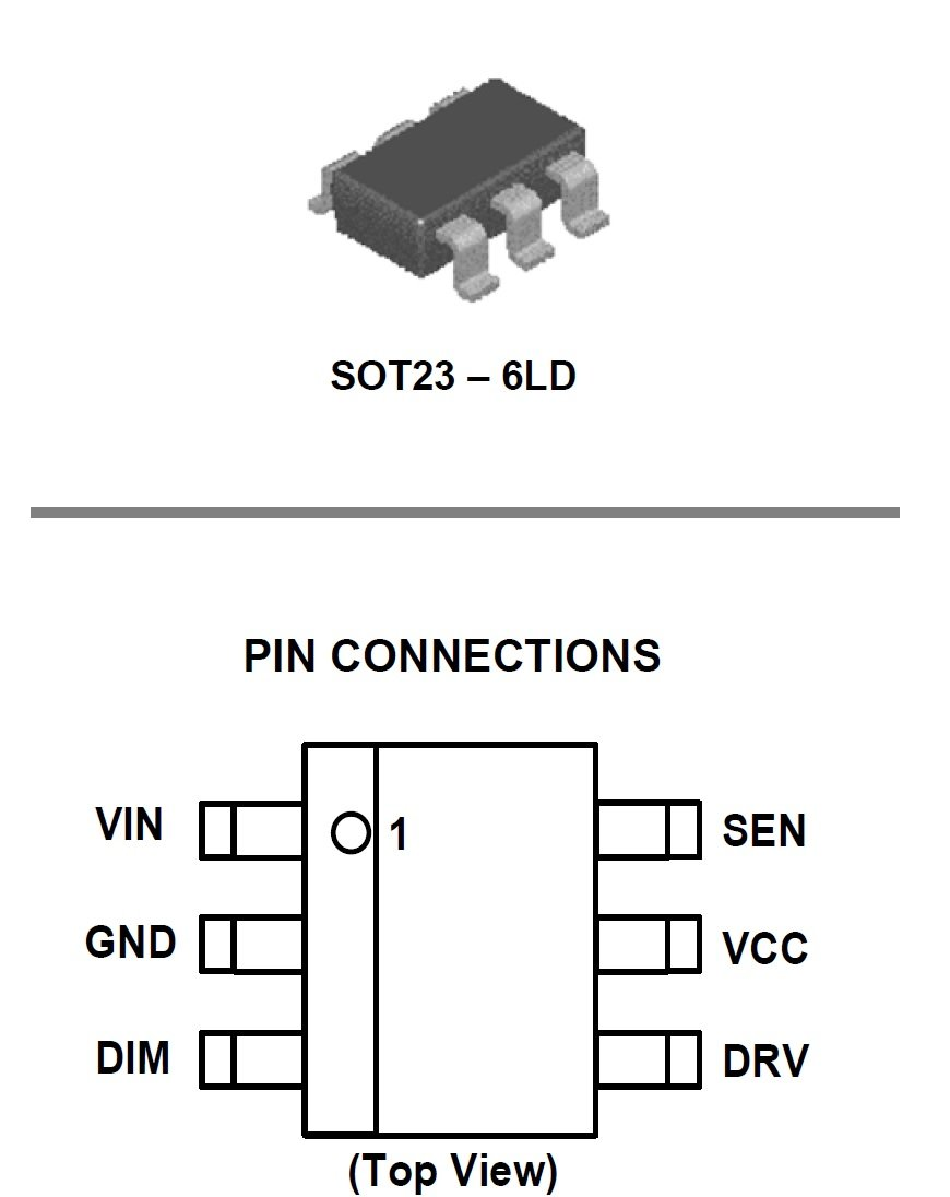 wide input voltage range in a small 6-pin package  on semi u2019s new led dimmer