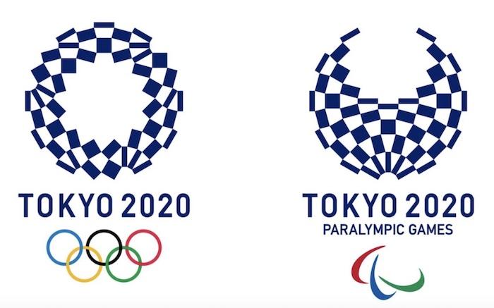 Olympics 2020 logos.