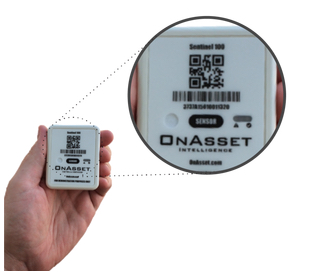 OnAsset's BLE-based asset monitoring tag