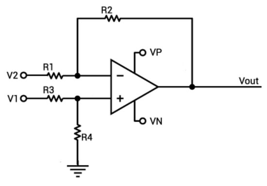 op-amp voltage and gain calculator