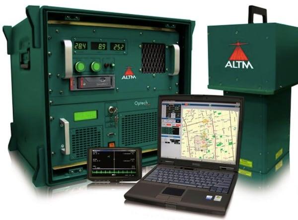 Optech's ALTM-Gemini equipment.