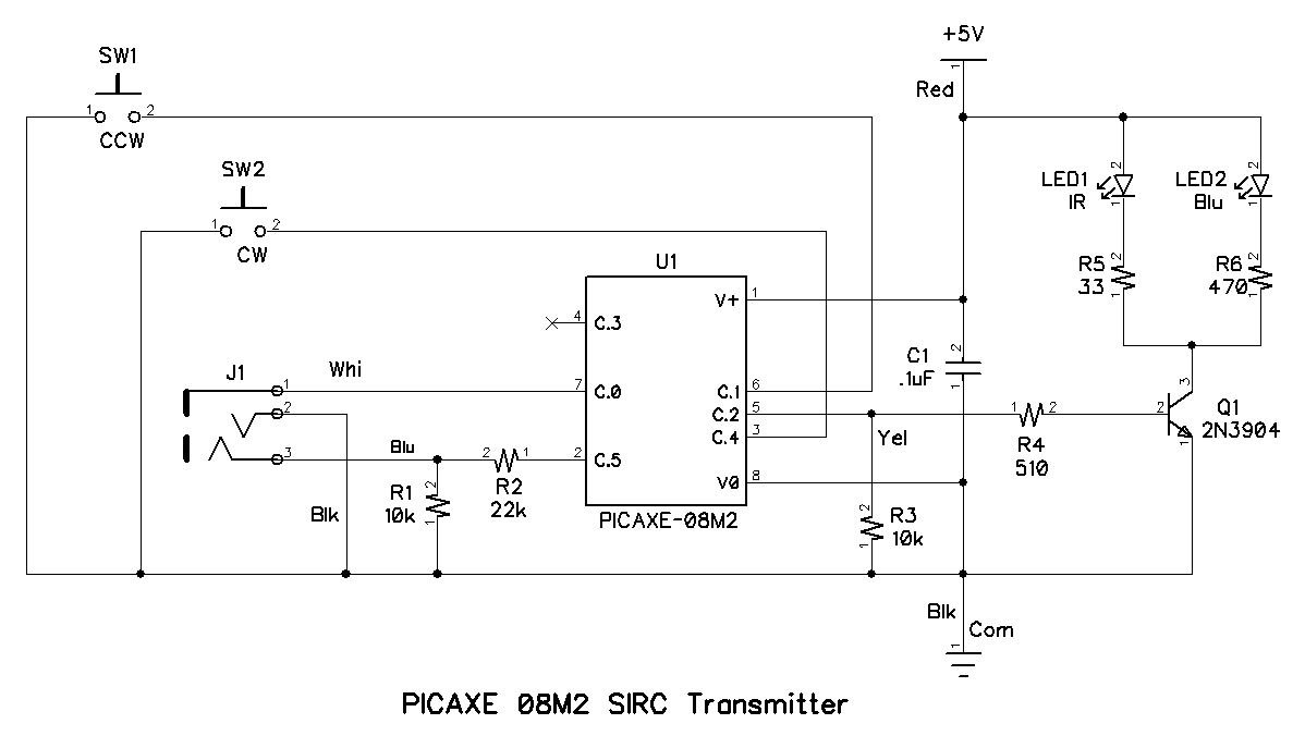 Controlling A Stepper Motor With An Sirc Transmitter And Receiver Besides Simple Controller Further Wireless Click To Enlarge