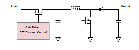 add short circuit protection to your boost converter rh allaboutcircuits com short circuit protection schematic diagram amplifier short circuit protection schematic