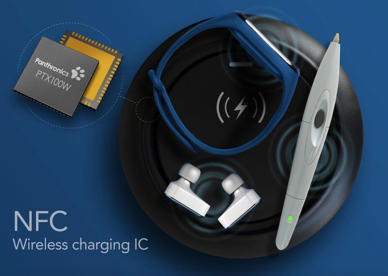 Panthronics' NFC wireless charging IC