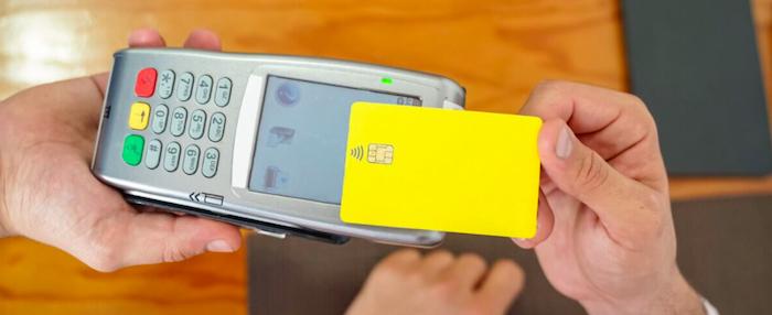 Passive RFID in credit card