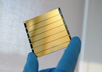 Perovskites can be used as light-weight, flexible solar cells