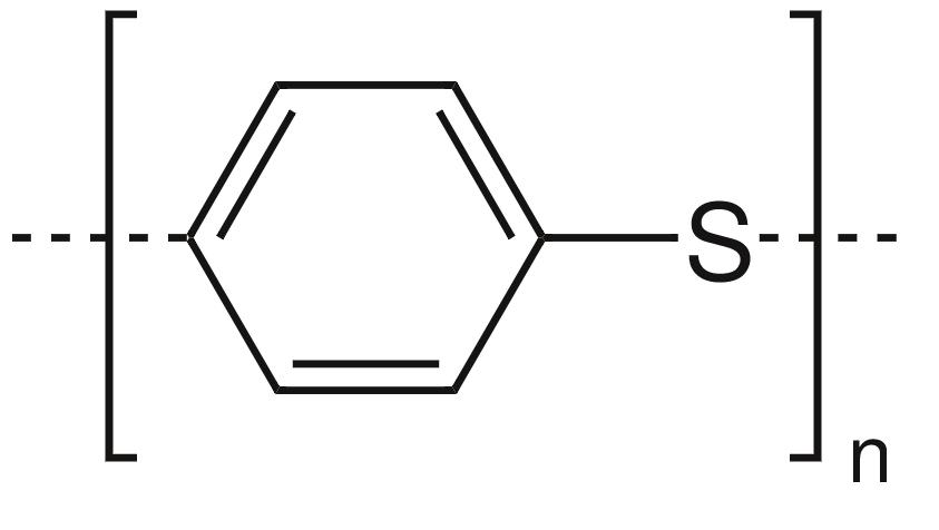 Polyphenylene sulfide.