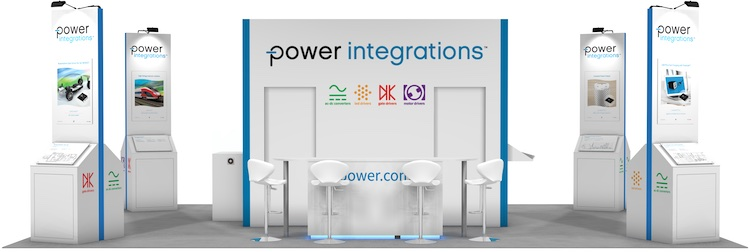 Power Integrations virtual booth that was to be displayed at APEC 2020.