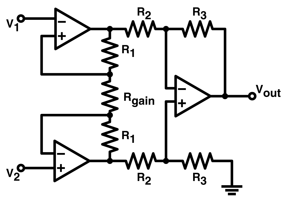 Practical Uses Of Instrumentation Amplifiers Input Interfacing Circuits Connect To The Real World