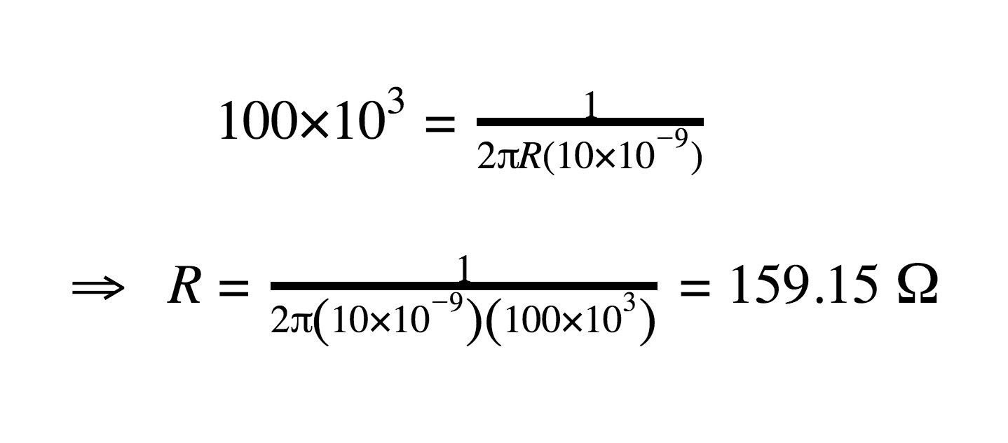 Differential Low Pass Filter And The Design Formula