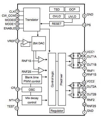 BD63720AEFV block diagram