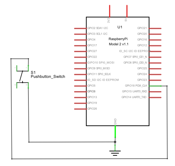 build a raspberry pi pushbutton switch although the circuit wiring to the rpi is quite simple recheck the wiring before programming the rpi this important verification step will assure you