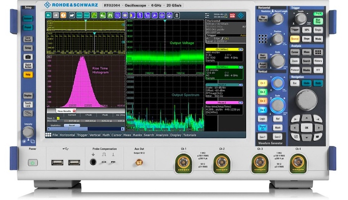 R&S RTO2000 oscilloscopes