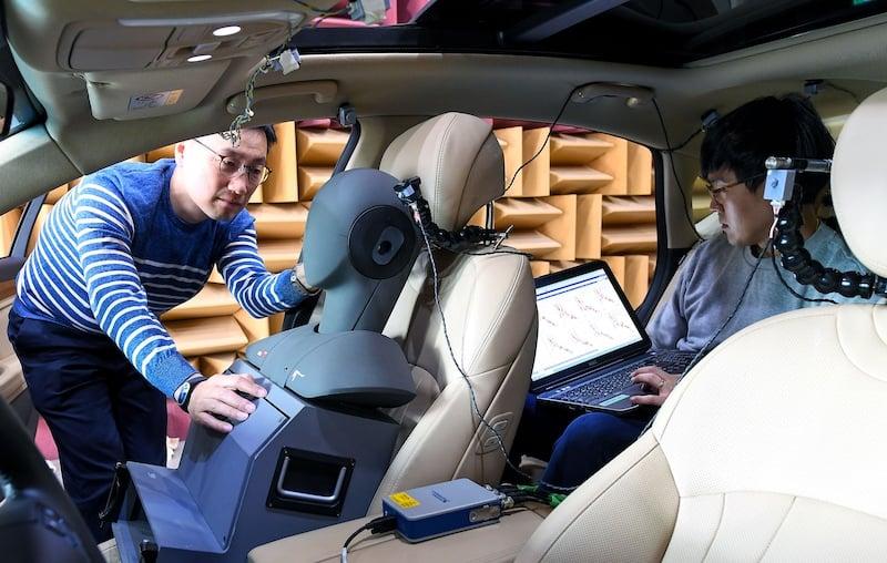 Researchers testing Hyundai's RANC technology
