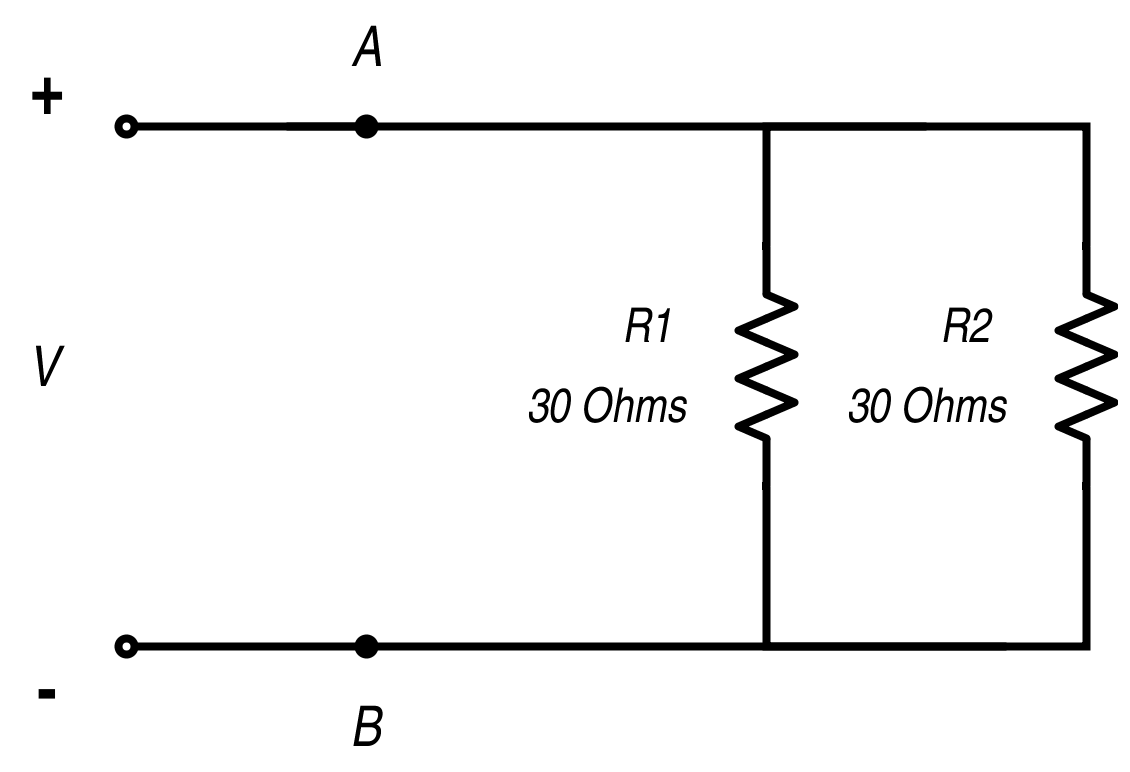 Resistance In Parallel Networks Diagram Further Electronic Symbol Resistor On Code Worksheet Resistors