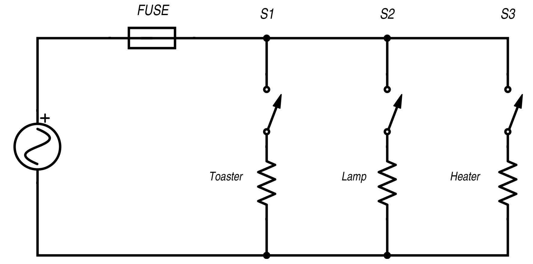 Resistance In Parallel Networks Series Circuits Part 5 Solving For Current Voltage And Home Wiring