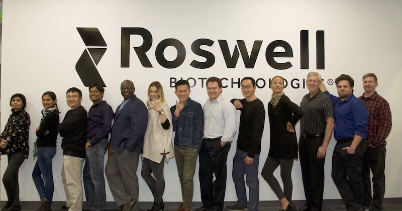 Roswell Biotechnologies team
