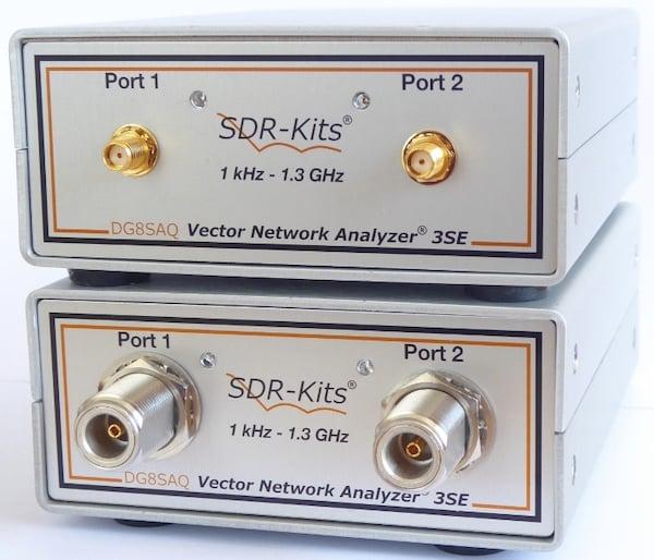 SDR Kits' DG8SAQ VNWA 3, a low-cost 1.3 GHz VNA