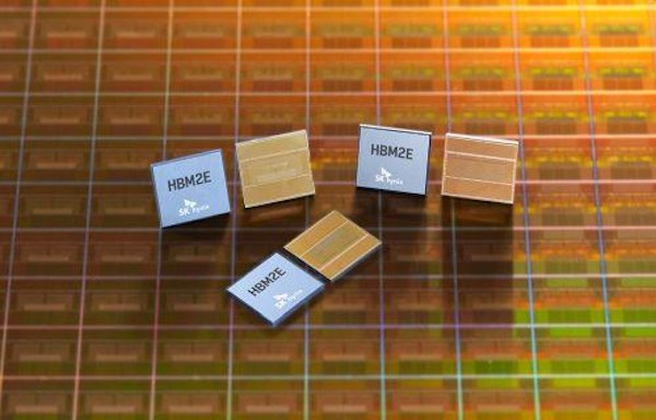 SK hynix HMB2E high-speed DRAM.