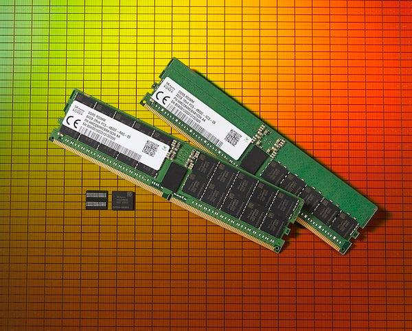 SK hynix's new DDR5 DRAM module